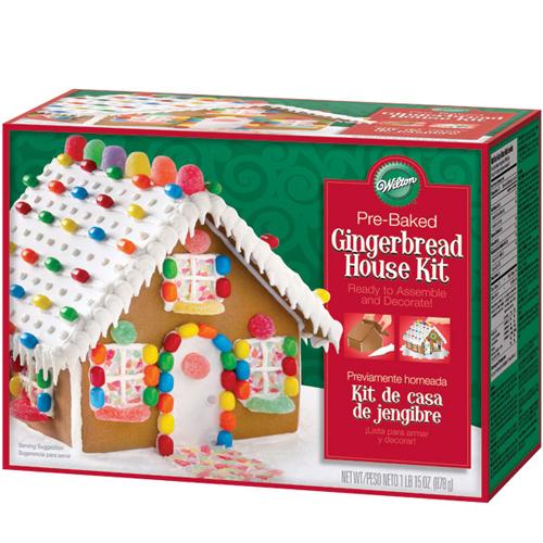 Kit de casa de jengibre la cocinita cupcakes for Kit casa icf